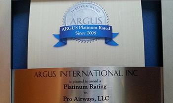 ARGUS PROAIRWAYS